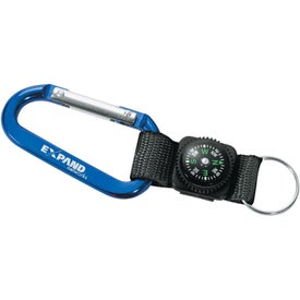Customized Carabiner with Compass