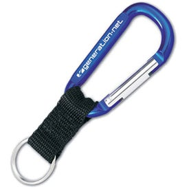 Customized Carabiner with Lanyard