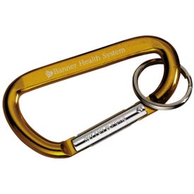 Carabiner with Ring for Advertising