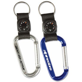 Carabiner with Thermometer Key Tag