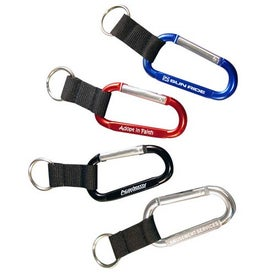 Carabiner with Web Key Chain