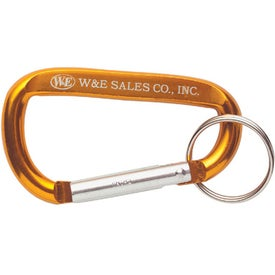 Carabiners with Keyring for Advertising