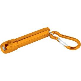 Carabiner w/ LED Light for Customization