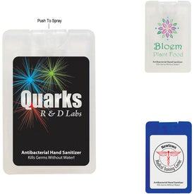Advertising Card Shape Hand Sanitizer with Label