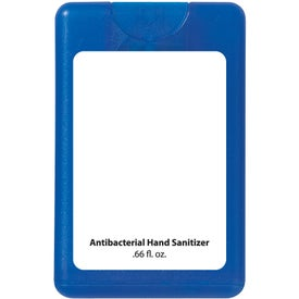 Card Shape Hand Sanitizer Branded with Your Logo