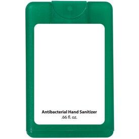 Branded Card Shape Hand Sanitizer