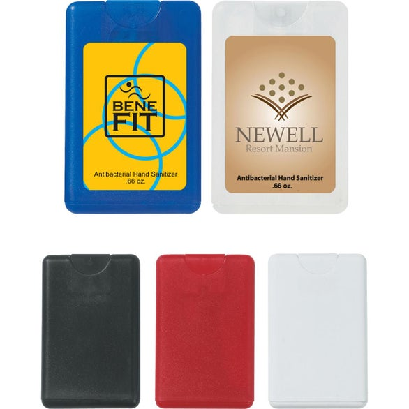 Card Shape Hand Sanitizer (20 mL)