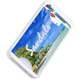 CardSafe Cell Phone Wallet with Your Slogan