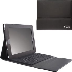 Promotional iPad Case with Bluetooth Keyboard