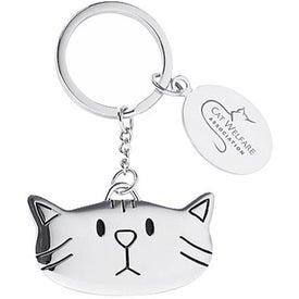 Cat-Theme Key Holder with Locket