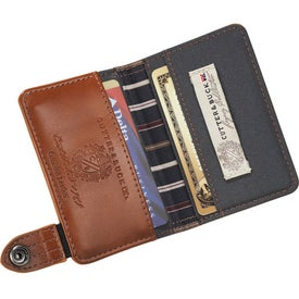 Personalized Cutter & Buck Legacy Card Holder