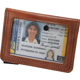 Imprinted Cutter & Buck Legacy Card Holder