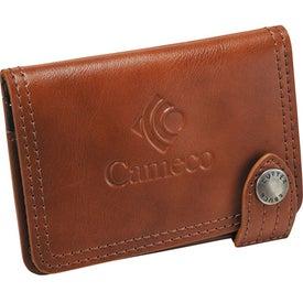 Monogrammed Cutter & Buck Legacy Card Holder