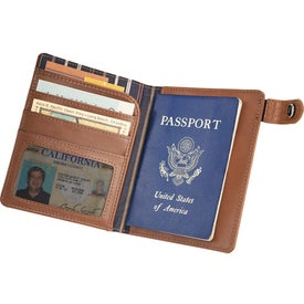 Printed Cutter & Buck Legacy Passport Wallet