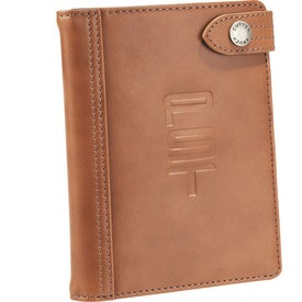 Cutter & Buck Legacy Passport Wallet for Your Company