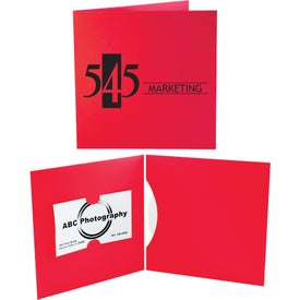 CD and DVD Business Card Folio