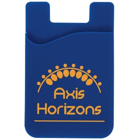 Cell Phone Card Holder with Packaging Branded with Your Logo