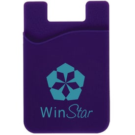 Logo Cell Phone Card Holder with Packaging