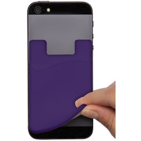 Cell Phone Card Holder with Packaging Printed with Your Logo