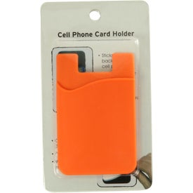 Cell Phone Card Holder with Packaging for Marketing