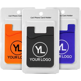 Cell Phone Card Holder with Packaging