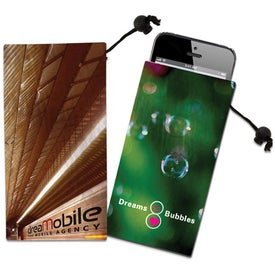 Cell Phone Microfiber Cloth Pouch