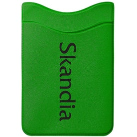 Cell Phone Wallet for Advertising