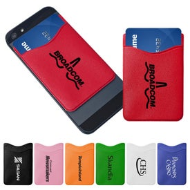 Cell Phone Wallet Branded with Your Logo