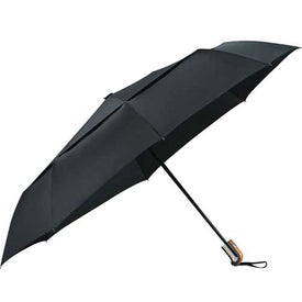 Branded Chairman Auto Open/Close Vented Umbrella