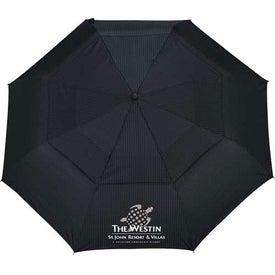 Branded Chairman Auto Open/Close Vented Umbrella