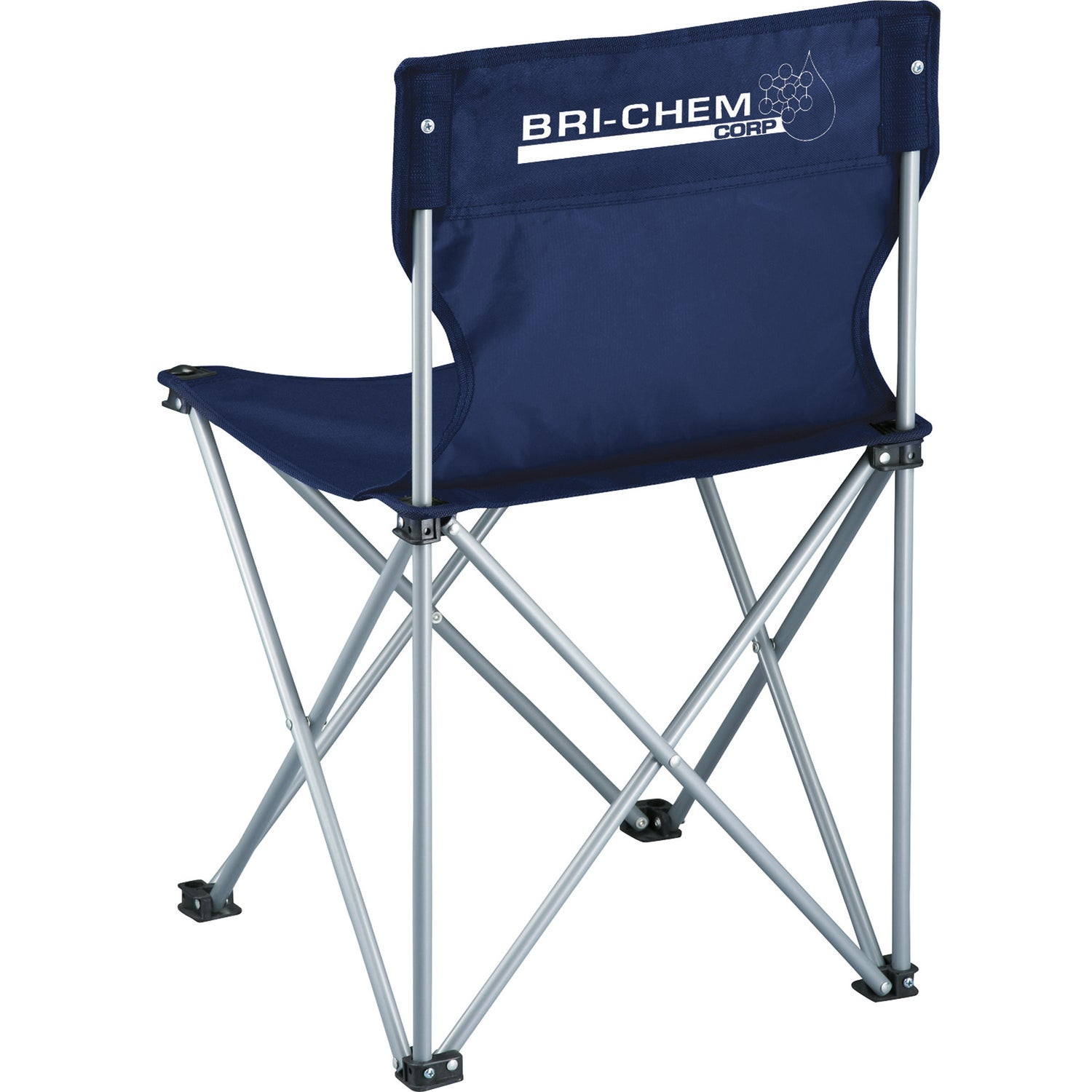 Royal Blue Champion Folding Chair Printed With Your Logo