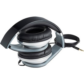 Chaos Headphones with Music Control with Your Slogan
