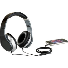 Chaos Headphones with Music Control Branded with Your Logo