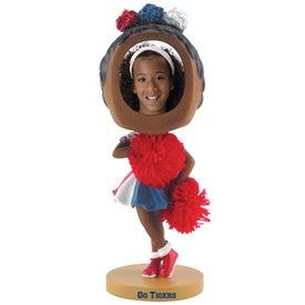 Cheerleader Single Bobble Head