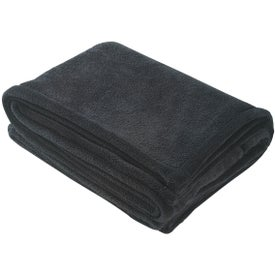 Chenille Blanket Imprinted with Your Logo
