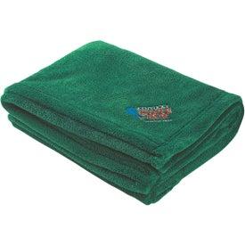 Chenille Blanket for Advertising