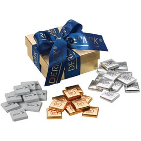 Chest Gift Box with Chocolate Squares