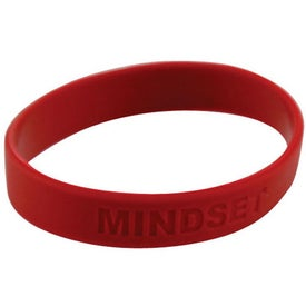 Advertising Children's Laser Engraved Wristband