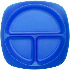 Advertising Children's Portion Plate