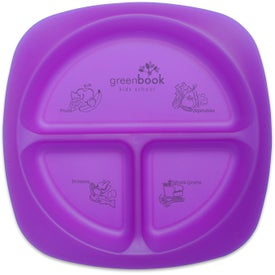 Children's Portion Plate with Your Slogan