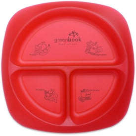 Logo Children's Portion Plate
