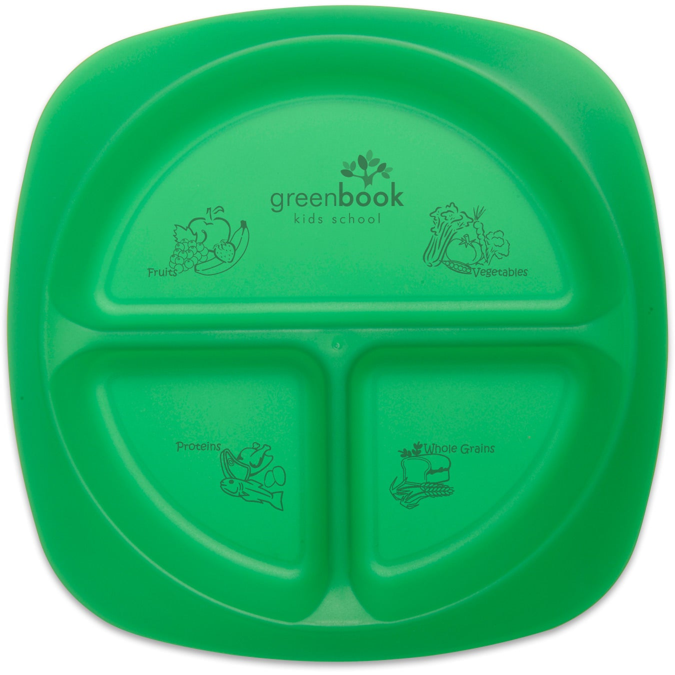 Children s portion plate trade show giveaways 1 65 ea