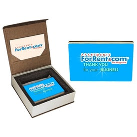 Chocolate Logo Business Card with Gift Box