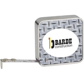 "Chrome Tape Measure (72"")"