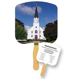 Church Religious Fan
