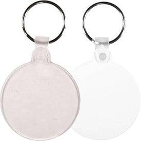 Customized Circle Key Fob