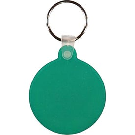 Personalized Circle Key Fob