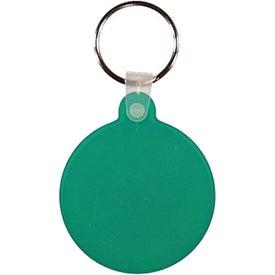 Personalized Circle Key Fob
