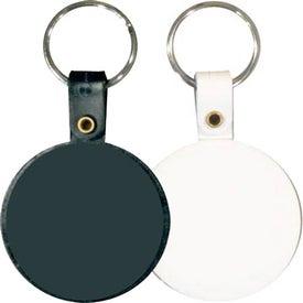 Branded Circle Key Tag