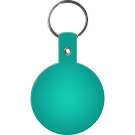 Personalized Circle Key Tags for Your Organization